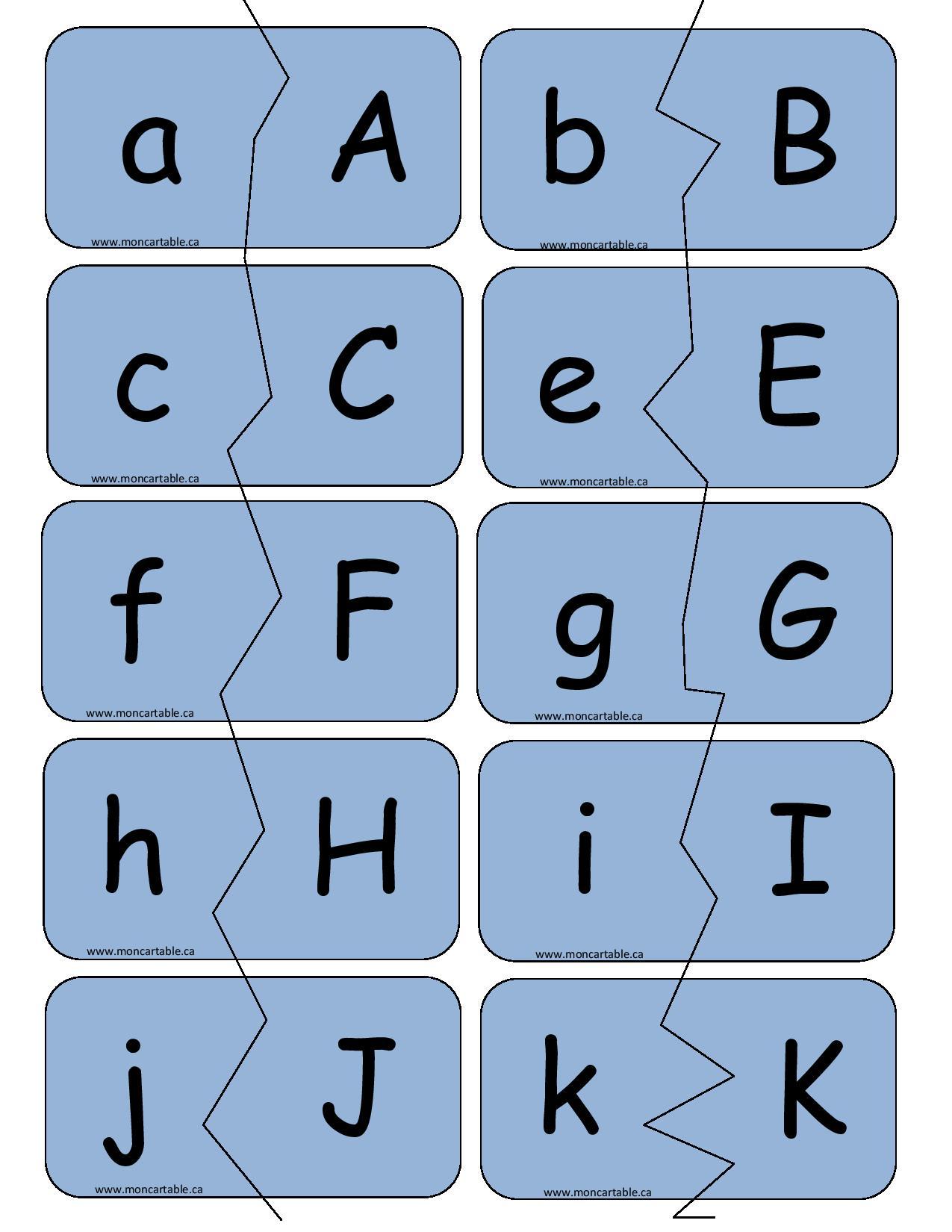 Casse t te rapido pr sco - Lettre alphabet majuscule ...