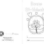 Cartes de la St-Valentin à imprimer gratuitement