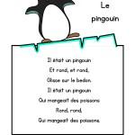 """Paroles de la chanson """"le pingouin"""""""