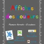 Affiches des couleurs | plusieurs formats - 12 couleurs