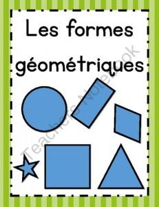 Les formes géométriques (affiches)
